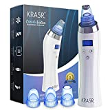 The Original Blackhead Remover Vacuum - Krasr Facial Pore Cleanser Electric Acne Comedone Extractor...