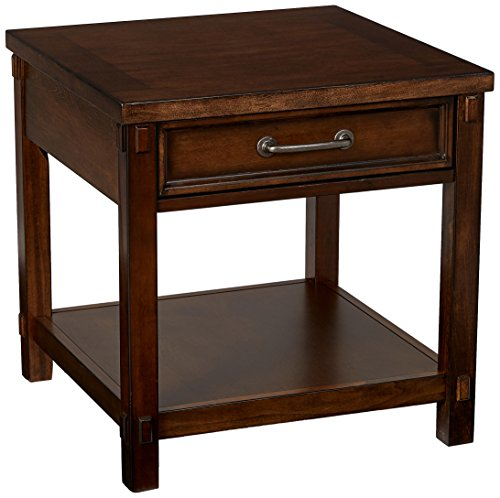 Lane Home Furnishings End Table, Dark Pecan