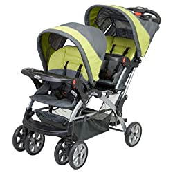 This Is One Of The Double Jogging Strollers For Twins Design Excellent With Two Stadium Seating Flex Loc Car Seats Are Very Comfortable