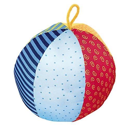 Sigikid, Morbida Palla Attiva, PlayQ, Ideale per Bambine e Bambini, Multicolore