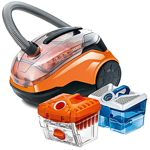 Thomas 786552 Cycloon Hybrid Family & Pet Aspirateur, 1700 W, 1.8 liters, Orange