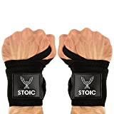 Stoic Wrist Wraps Weightlifting, Powerlifting, Cross...