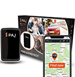 PAJ GPS Allround Finder Version 2020 GPS tracker - Personal GPS tracker devices for Real-time positioning- Antitheft protection: locate cars, motorcycles, luggage, people and more- German brand