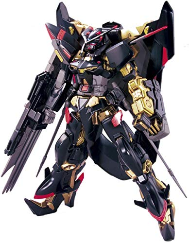 Bandai 5057591 Gundam Astray Gold Frame Amatu Mina Hg 1/144 Model Kit