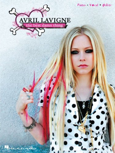 Avril Lavigne - The Best Damn Thing Songbook (Piano/Vocal/Guitar Artist Songbook) (English Edition)