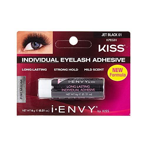 Kiss I Envy Individual Eyelash Adhesive Jet Black (1 Pack)
