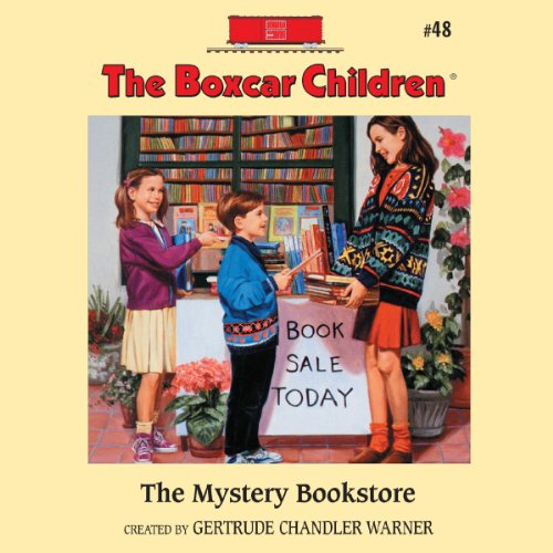 The Mystery Bookstore audiobook cover art