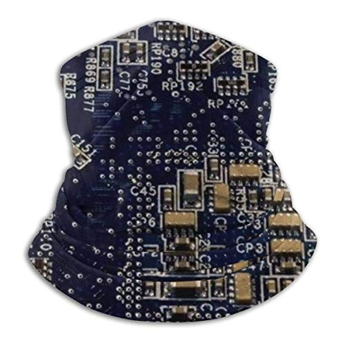 NA Circuit Boards Technology Unisex Fleece Neck Warmer Face Warmer Neck Tube Neck Neck Scarf Neck Guêtres