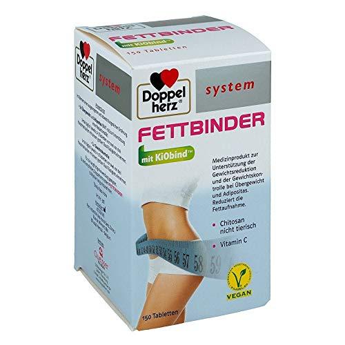DOPPELHERZ Fettbinder mit KiObind system Tabletten 150 St