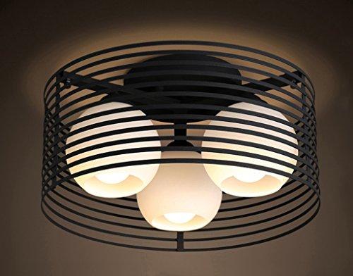 Home mall- Plafond Lumière Mode Creative Style Européen Enfants Chambre Étude Chambre Corridor Lampe E27 (Couleur : Lumière chaude)