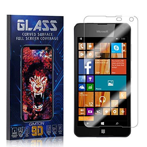 GIMTON Displayschutzfolie für Microsoft Lumia 650, 3D Touch, Anti Kratzen, Keine Luftblasen Premium Displayschutz Schutzfolie für Microsoft Lumia 650, 2 Stück