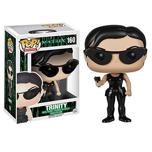 Nologo YYBB Pop-Figur!Filme: The Matrix - Trinity Sammler Vinyl Figur Anime Geschenke Spielzeug 3,9 Inch Figurines