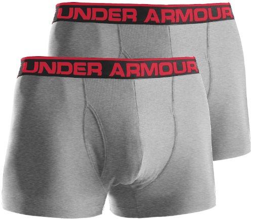 Under Armour pour Homme 'The Original' 7,6 cm Boxers Taille XXXL Gris