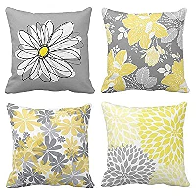 """BJYHIYH Decorative Pillow Covers 18""""x18"""" Coach Throw Pillow Covers"""