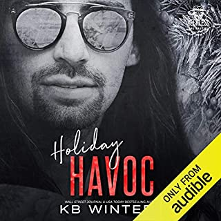 Holiday Havoc                   Written by:                                                                                                                                 KB Winters                               Narrated by:                                                                                                                                 Noel Harrison,                                                                                        Jay Crow,                                                                                        Lee Samuels,                   and others                 Length: 5 hrs and 42 mins     1 rating     Overall 5.0