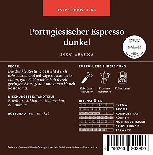 BKR | Espresso | Portugiesischer Espresso | Arabica | Mischung 1000g Bohne