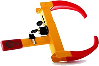 VaygWay Tire Clamp Wheel Lock- Metal Boot Stabilizer Anti Theft- Wheel Chock Lock Car..