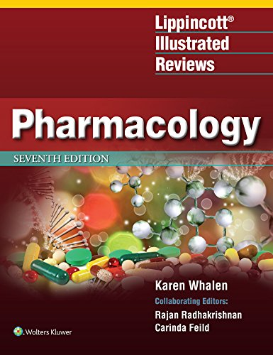 Compare Textbook Prices for Lippincott Illustrated Reviews: Pharmacology Lippincott Illustrated Reviews Series 7 Edition ISBN 9781496384133 by Whalen PharmD  BCPS, Karen
