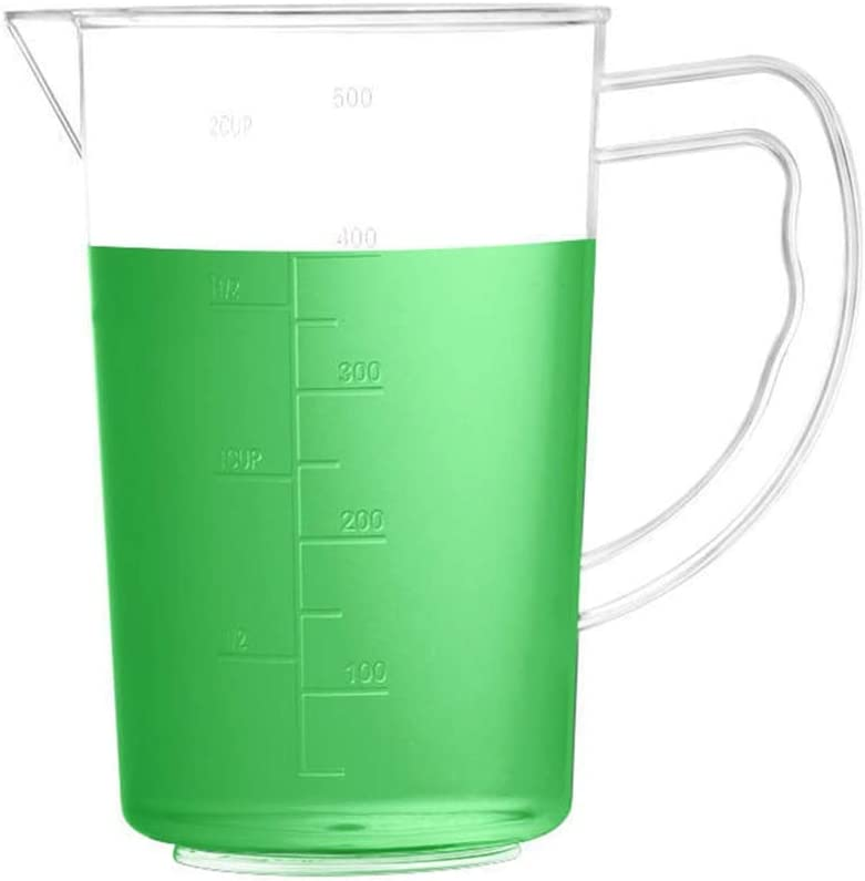 Plastic Graduated Cup Clear Selling Shipping included Multipurpose Measuring Multipur