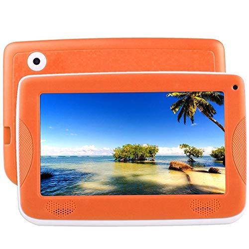 Tableta de 7 Pulgadas - MJ-Brand 1GB Ram + 16GB Android 4.4 Phablet Tablet Quad Core Pad con cámara Dual, Tableta educativa para niños