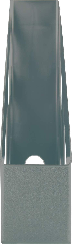 DIN A4-C4 Clasificador vertical 1 unidad Helit the green bridge color Negro certificado Blauer Engel pl/ástico reciclado