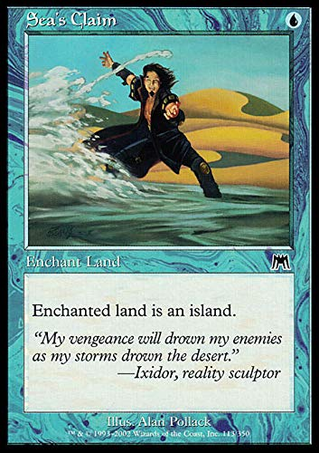 Magic: the Gathering - Sea's Claim - Onslaught by Magic: the Gathering