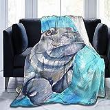 N \ A Manta de forro polar suave con cinta de concienciación sobre el cáncer cervicouterino