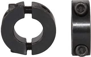AZSSMUK Double Split Clamp-On Shaft Collars of Metal 1/2