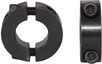 AZSSMUK Double Split Clamp-On Shaft Collars of Metal 3/4