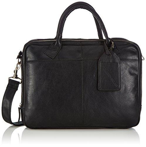 Cowboysbag Unisex-Erwachsene Bag Fairbanks Henkeltaschen, Schwarz (Black 100), 40x30x5 cm