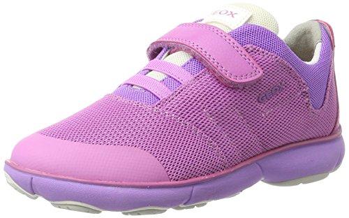 Geox Mädchen J Nebula Girl A Low-Top, Pink (Fuchsiac8002), 31 EU