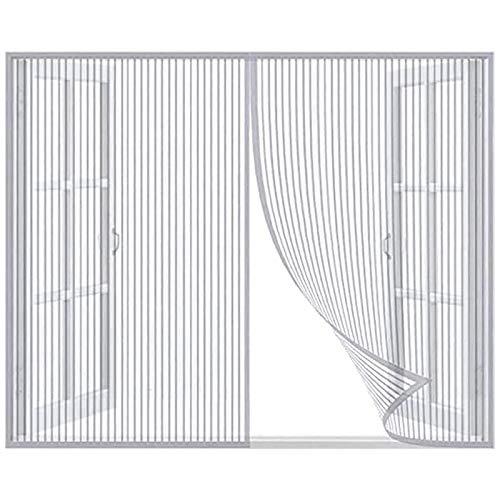 Magnet Fliegengitter Fenster,selbstklebender Magnet Anti-Moskito-Bildschirm Fensternetz Unsichtbare Bildschirm Fenster Haushalt Anti-Moskito Anti-Katze Scratch Fenster Bildschirmnetz