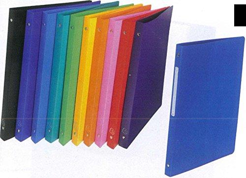 10 Ringordner A4 2 Ringe 16mm stark farbig sortiert