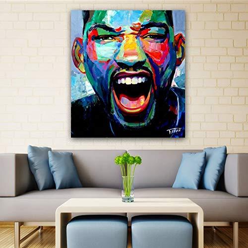 tzxdbh 1 moderne canvas, bedrukt met Cuadros Che Guevara Dom kunstdruk op canvas, wanddecoratie (geen fotolijst) 50x100cm 3