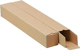 ボックスバンク 紙管 紙筒 ポスター カレンダー 収納 ダンボール箱 A2用(6cm幅)50枚セット MA01-0050