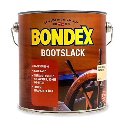 Bondex Sparlack, Schicht, transparenter, farbloser UV Lack, 2,5 l