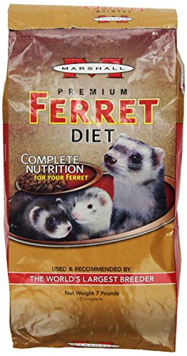 Marshall Premium Ferret Diet, 7-Pound Bag