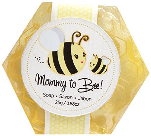 Mommy To Bee Honey-Scented Honeycomb Soap - 24 by Kateaspen