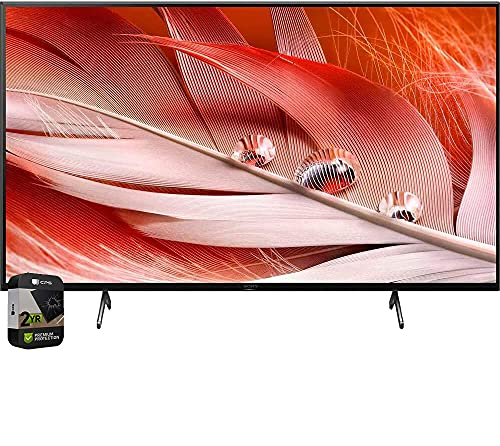 Sony XR55X90J 55-inch X90J 4K Ultra HD Full Array LED Smart TV (2021 Model) Bundle with Premium 2 Year Extended Protection Plan