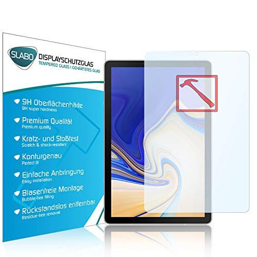 Slabo Premium Pellicola Protettiva in Vetro Temperato per Samsung Galaxy Tab S4 T830 | T835 Pellicola Protettiva Schermo Tempered Glass Crystal Clear - Graffi Fino a 9H