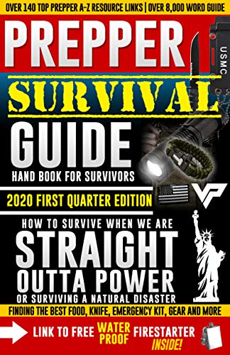 Prepper Survivor Guide, A Handbook For Survivors: 2020 Edition (OVER 8,000 WORDS): How To Survive When We Are Straight Outta Power? Surviving A Power Outage ... Natural Disaster (Straight Outta Options 1) by [Jonathan Higgins]
