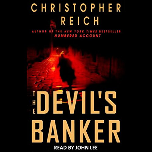 The Devil's Banker audiobook cover art