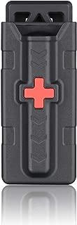 C-A-T Tourniquet Holder, Tactical Duty Belt Tourniquet Pouch for CAT Combat Application, Official Rigid Tourniquet Carrier Case EDC for Outdoor Hunting -Black