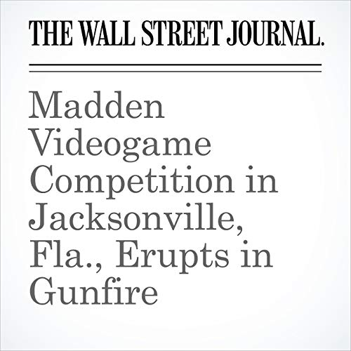 Madden Videogame Competition in Jacksonville, Fla., Erupts in Gunfire copertina