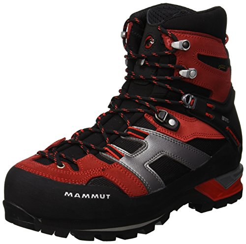 Mammut Magic High GTX, Botas de Senderismo para Hombre, Rojo (Inferno/Black 000), 44 EU