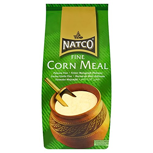 Natco Feines Maismehl Polenta Fein 1.5kg (Packung mit 6 x 1,5 kg)