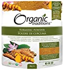 Organic Traditions Turmeric Powder - 200g/ 7 ounces