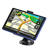 GPS Navigation for Car Truck Lifetime Maps Update Car Navigator Touchscreen 7 Inch 8G 256M Navigation System with Voice Guidance and Speed Camera Warning Driver Alerts
