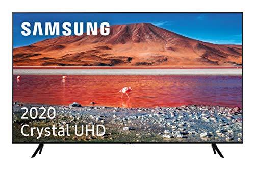 Samsung Crystal UHD 2020 65TU7005 Smart-TV, 65 Zoll, 4K-Auflösung, HDR 10+, Crystal Display, 4K-Prozessor, PurColor, intelligenter Sound, One Remote Control und kompatibel mit Sprachassistenten