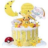 Cake Topper - WENTS 10PCS Cupcake Toppers Decoración Tarta de Cumpleaños Decoración con Muñeca para ...
